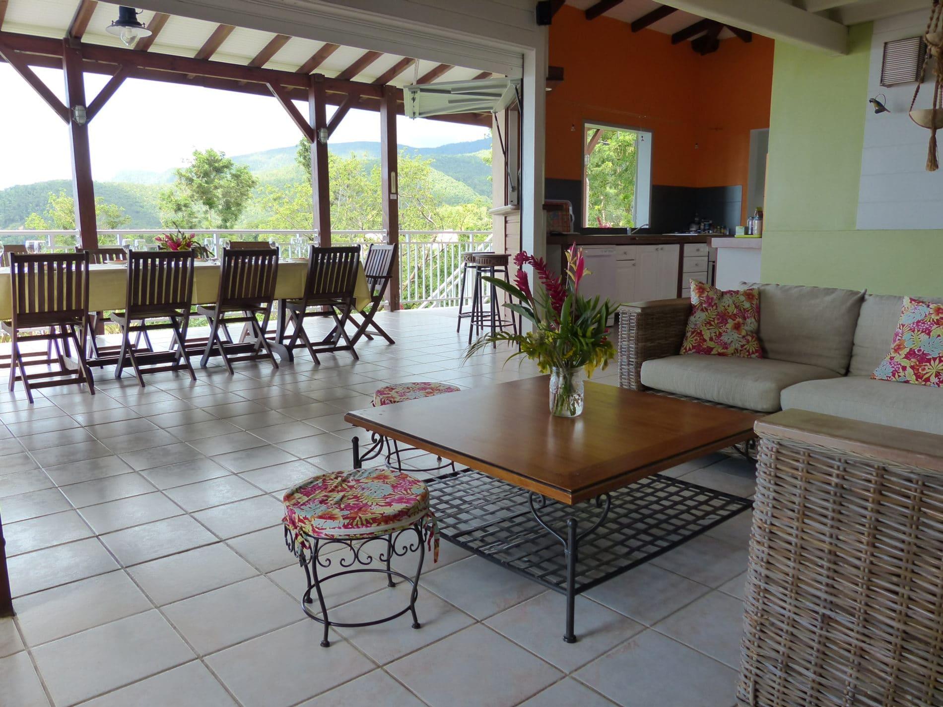 Villa de charme a Bouillante Guadeloupe