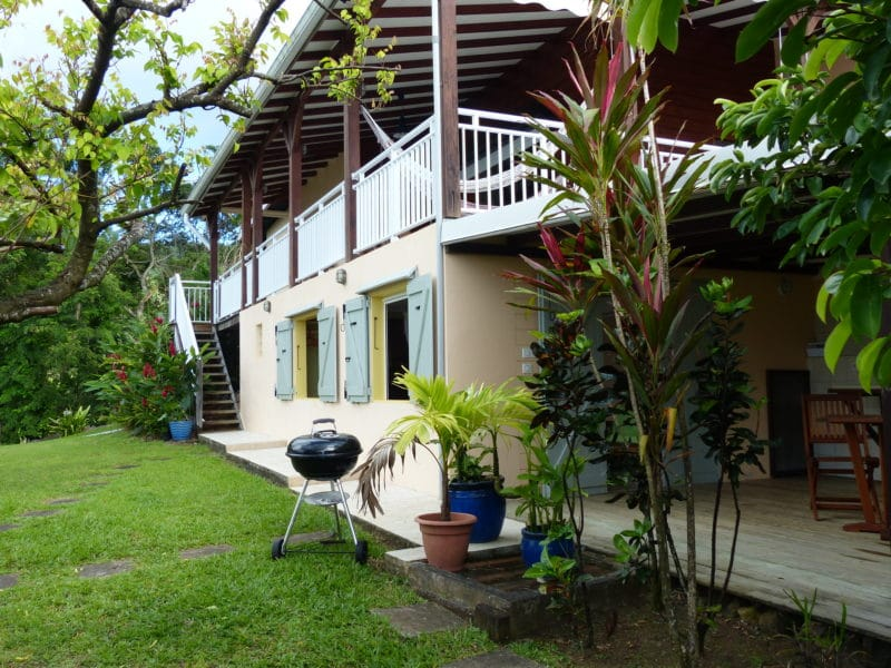 Villa de vacances avec Piscine en Guadeloupe