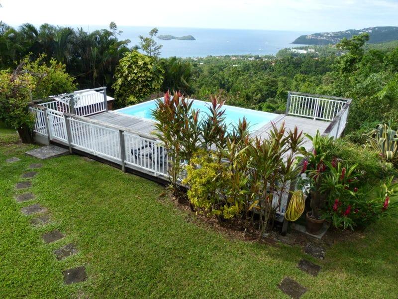 villa piscine vacances Guadeloupe