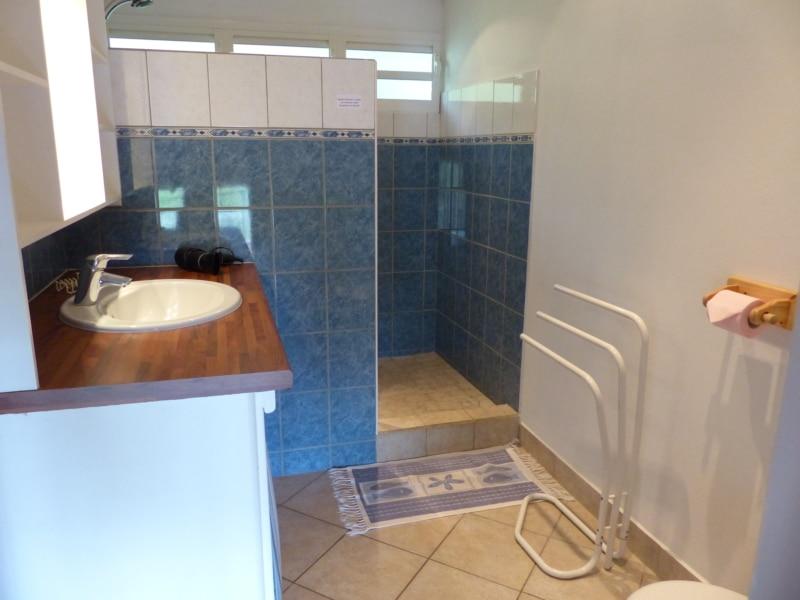 1ère salle d'eau Location a bouillante Guadeloupe