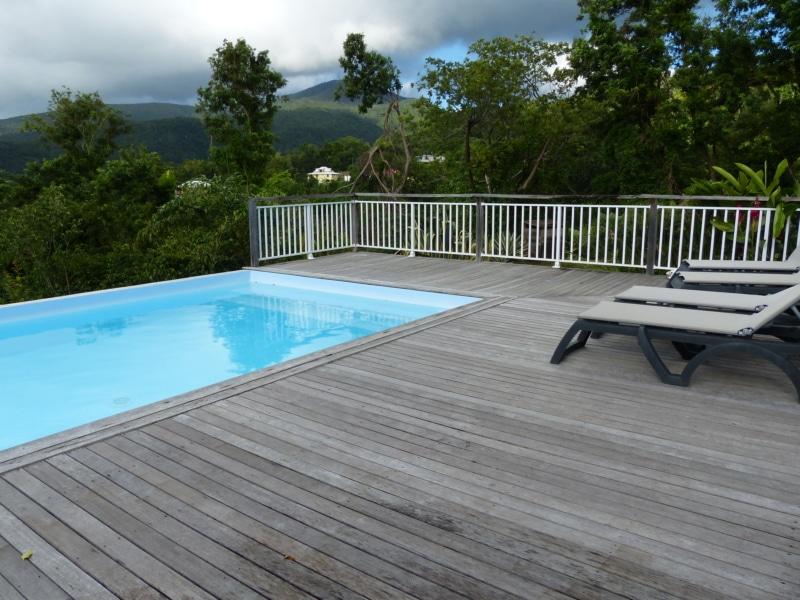 villa Macanao piscine vacances guadeloupe